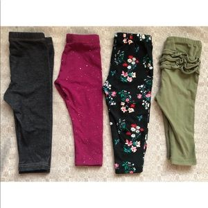 Girls Set Of Leggings